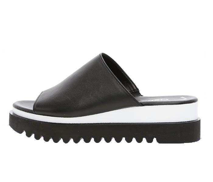 Gabor Black Sandal