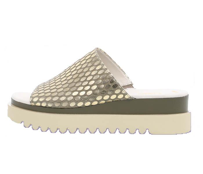 Gabor White Sandal